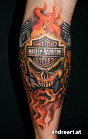 best 25 harley davidson tattoos ideas