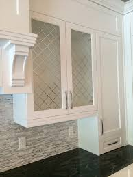 Glass Inserts For Cabinet Doors Frosted Cabinet Home Glass Kitchen