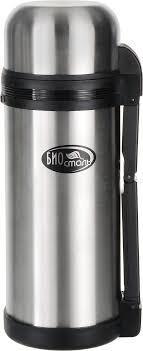 <b>Термос</b> Вакуумный, Крышка-чашка Biostal, 1.5 л — купить в ...
