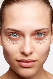 step 1 hide dark circles apply a moisturizer with spf to help concealer glide on