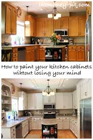 Small Picture How To Paint Your Kitchen Cabinets Without Losing Your Mind The
