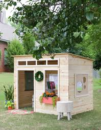 how to build a diy indoor playhouse free building plans by jen woodhouse