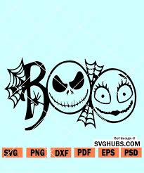 Size of this png preview of this svg file: Jack Skellington Silhouette Nightmare Before Christmas Svg Free Download Free And Premium Svg Cut Files