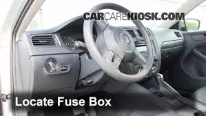 interior fuse box location volkswagen jetta  interior fuse box location 2011 2016 volkswagen jetta 2011 volkswagen jetta se 2 5l 5 cyl sedan