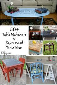 Repurposed Tables and Table Makeover Ideas MyRepurposedLife.com