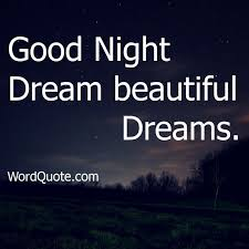 Beautiful Dreams Quotes Best Of Good Night Dream Beautiful Dreams Good Night Pinterest Quotes