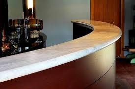 curved granite bar countertop
