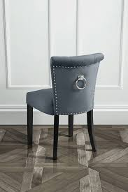positano dining chair with back ring smoke