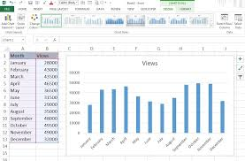 Microsoft Excel 2013 Charts Excel For Noobs Tutorial Microsoft Excel Charts Excel 2013