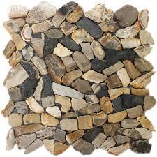 Marmor Bruch Mosaik Fliesen Antik Oak - RAN48012