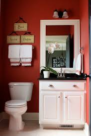 Dark Red Bathroom The Yellow Cape Cod Budget Friendly Builder Bathroom Makeover
