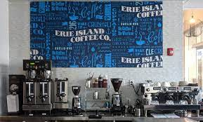 With three glass walls that lift to create a wonderful indoor/outdoor patio! Erie Island Coffee Co Opens New Shop On Euclid Scene And Heard Scene S News Blog