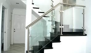 cost of glass railing glass staircase railing amazing design for staircase railing stairs glass railings stainless cost of glass railing