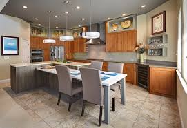 island kitchen dining table combo theydesign inside