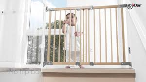 Babydan Designer Wood And Metal Gate Flexi Fit Wood Safety Gate From Baby Dan
