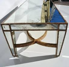 antique mirror coffee table mirrored coffee table antique mirror coffee table round