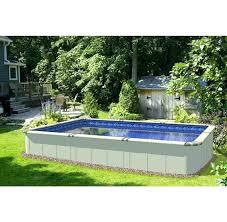 rectangular above ground pools. Plain Pools Above Ground Pool Rectangle Rectangular  On Pools L