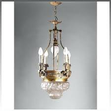 chrome finish ribbed chandeliers glass lantern chandelier bronze with relief molded opalescent dome antique copper flushmount c