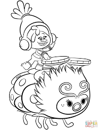 Dreamworks Trolls Coloring Pages Free Coloring Pages
