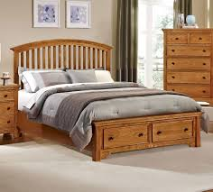 Medium Oak Bedroom Furniture Vaughan Bassett Furniture Bed Buy Forsyth Arched Storage Bed