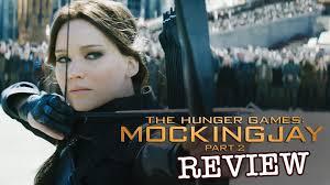 jennifer lawrence in the hunger games mocking jay pt 2 film review