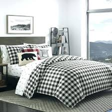 red and black flannel sheets flannel sheets mountain plaid black and off white duvet cover set red and black flannel