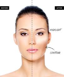 you can use makeup to make a round face look more oval minimize your forehead or