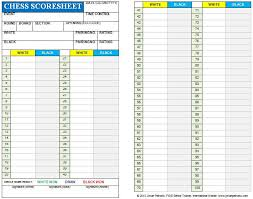 Chess Score Card | Chess Club | Pinterest | Chess, Internet Chess ...