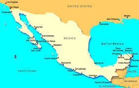 mexico central america cruise ports Map Of Usa And Cancun Mexico mexico central america map of us and cancun mexico
