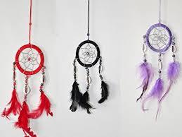 Mini Dream Catcher Lot Classy Lot Of 32 Mini Dream Catcher Pure Black Red And Purple Traditonal