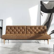 wonderful leather chesterfield sleeper sofa  leather