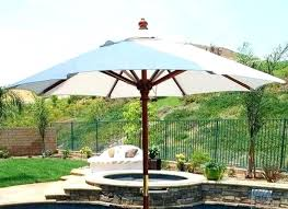 southern patio umbrella southern patio offset umbrella new outdoor umbrella with solar lights 4 pk solar
