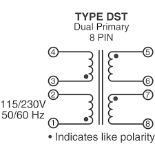 dst 6 24 signal transformer transformers digikey product overview