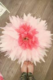 Paper Flower Stems How To Make Giant Bendable Paper Flowers Stems The Glitzy Pear