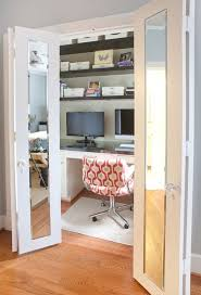 home office closet. Inventive Design Ideas For Small Home Offices : Closet Office