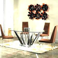 black round dining table 60 inch set glass pedestal