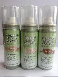 sally hansen natural beauty airbrush spray makeup light to um