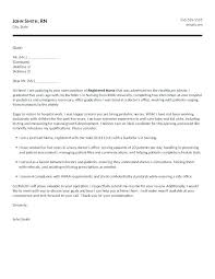 school cover letter examples of cover letters for nursing entry level registered nurse
