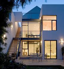 Townhouse Addition contemporary-exterior