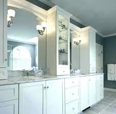 countertop vanity tower bathroom storage tower vanity vanities with pier towers home design photos bathroom counter