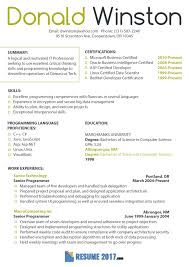 Professional Resume Format 2016 Awesome Proper Resume Format 2018
