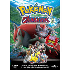 Pokémon Zoroark & The Master Of Illusions DVD given UK release date –  Capsule Computers