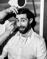on a recent thursday afternoon scott rogowsky perches in a makeup chair staring intently at the macbook on his lap with 30 minutes to go until showtime