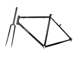 spa cycles steel tourer frame and forks