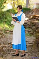 Belle Blue Dress Pattern Impressive Happily Grim Disney Dress Tutorials For NotSoGrownups