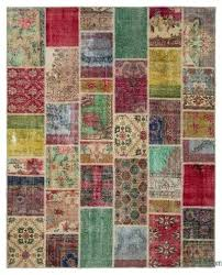patchwork rug 8 x cowhide ikea