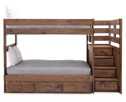 Moab Twin/Twin Stairbed with 3 Drawer Underdresser