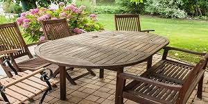 how to apply teak oil to your garden