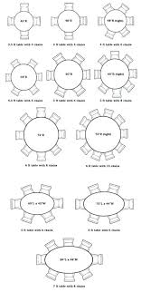 6 person round dining table size round table for home design ideas and pictures furniture person