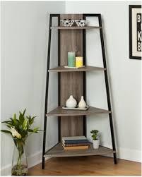 wooden corner shelves furniture. Fine Furniture Rustic Reclaimed Wood Metal Corner Shelf Stand 4 Tier Shelving Display Rack On Wooden Shelves Furniture L